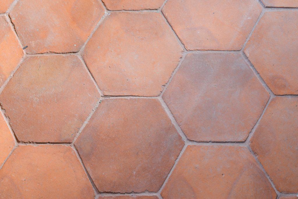 Beautiful handmade terracotta floor tiles for sale - based