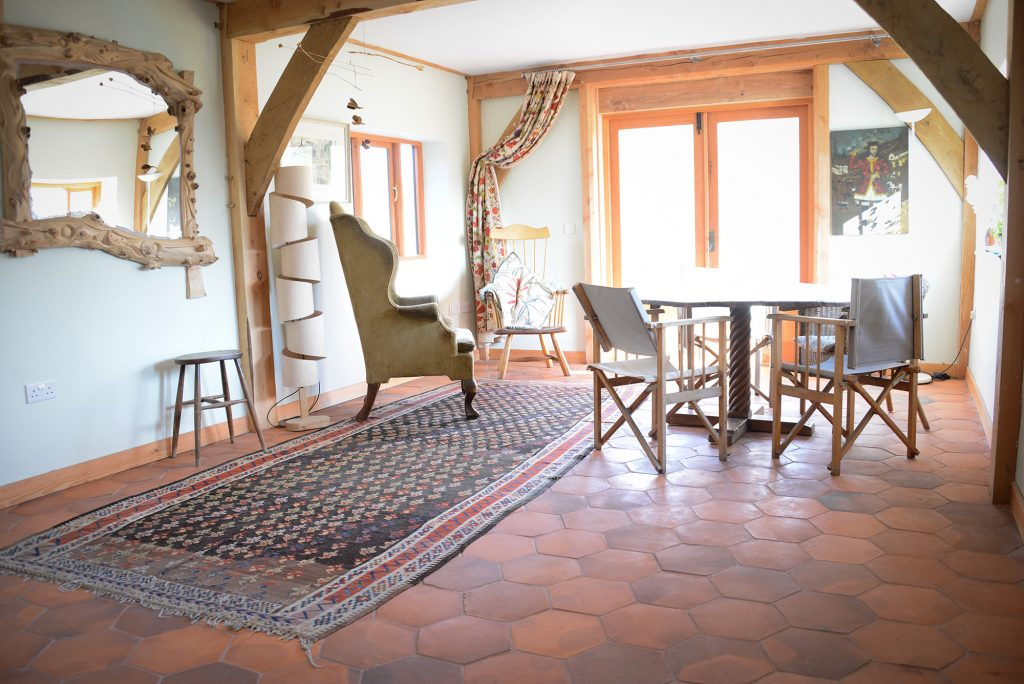 Beautiful Handmade Terracotta Floor Tiles For Sale Based